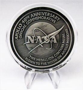 Apollo 40th Anniversary Medallion