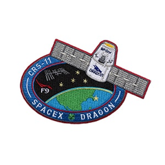OFFICIAL SPACEX CRS-11 DRAGON PATCH