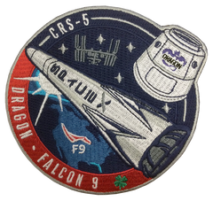OFFICIAL SPACEX CRS-5 MISSION PATCH