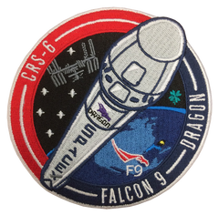OFFICIAL SPACEX CRS-6 MISSION PATCH