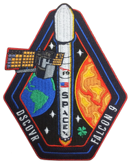 SPACEX DSCOVR FALCON 9 PATCH