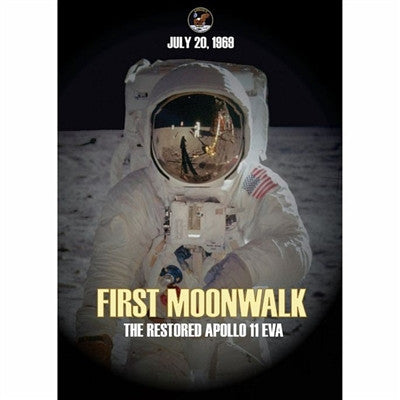 First Moonwalk: The Restored Apollo 11 EVA