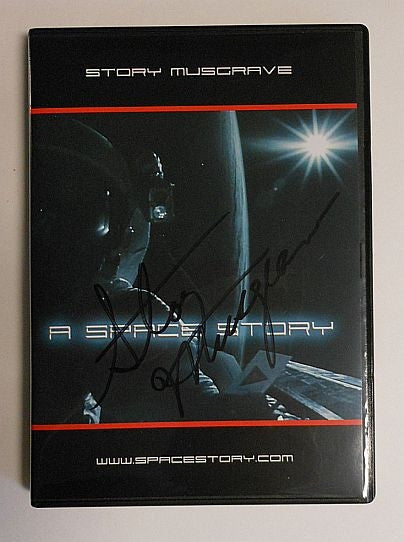 """A Space Story"" by Story Musgrave (Autographed by Story) - DVD"