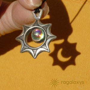 ECLIPSE PENDANT WITH FASHION CHAIN - The Space Store
