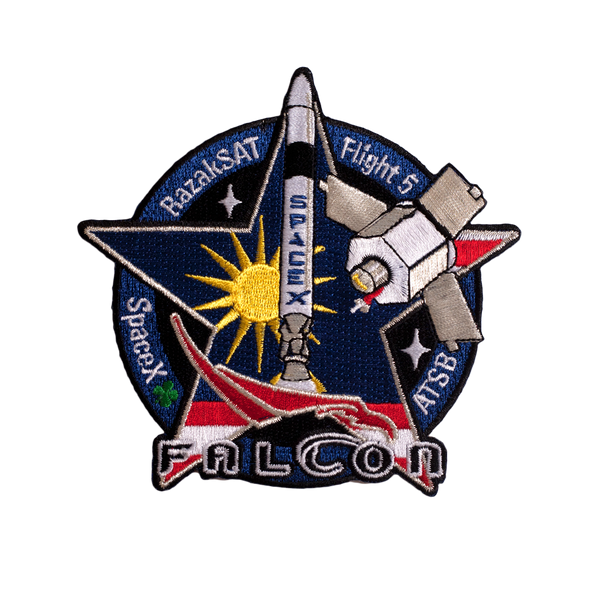 SPACEX MISSION PATCH FALCON FLIGHT 5