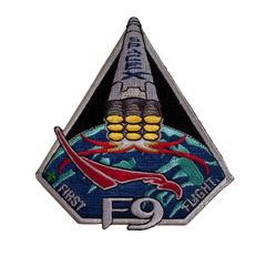 SPACEX F9 FIRST FLIGHT PATCH
