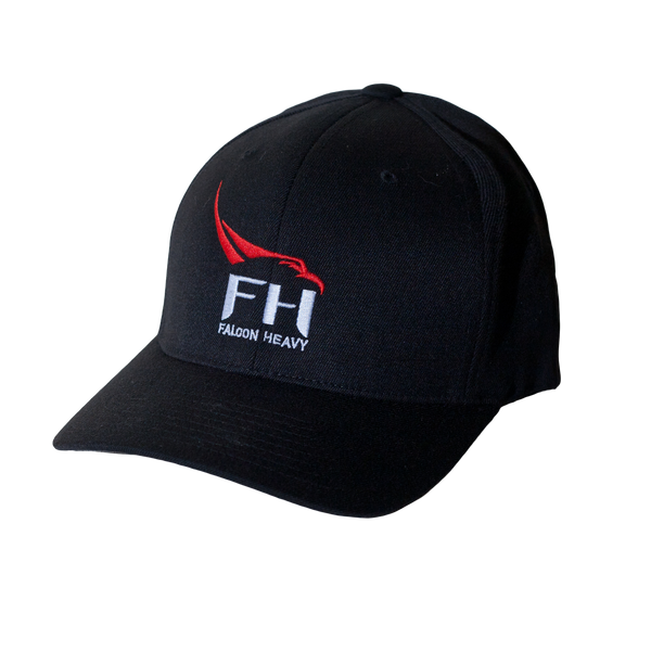 SPACEX FALCON HEAVY FLEXFIT CAP - The Space Store