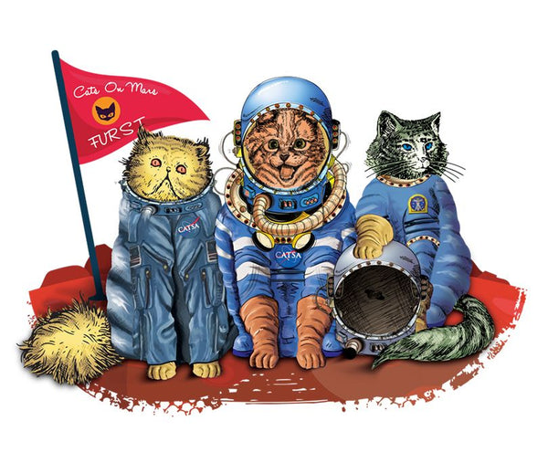 CATS 'FURST' ON MARS - A Spacestore Exclusive! - The Space Store