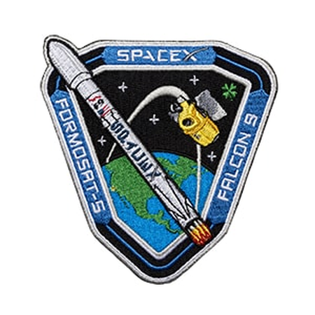 SPACEX FORMOSAT-5 MISSION PATCH