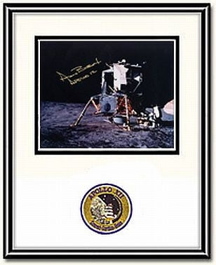 "Autographed & Framed 8"" x 10"" Photo of Alan Bean & Pete Conrad Working - Photo"
