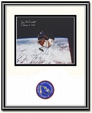 """Gumdrop""  8"" x 10"" Jim McDivitt Autographed & Framed Photo - The Space Store"