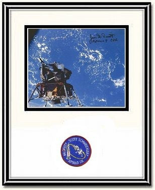 "Spider Over the Ocean' #2  Autographed & Framed 8"" x 10"" Photo - The Space Store"