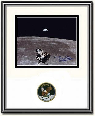 "Autographed & Framed 8"" x 10""  Photo of Buzz Aldrin 'Ascent' - Photo"