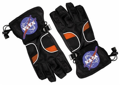 Junior Astronaut Gloves in Black - The Space Store