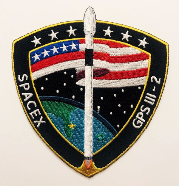 SPACEX GPS III SV01 MISSION PATCH - The Space Store