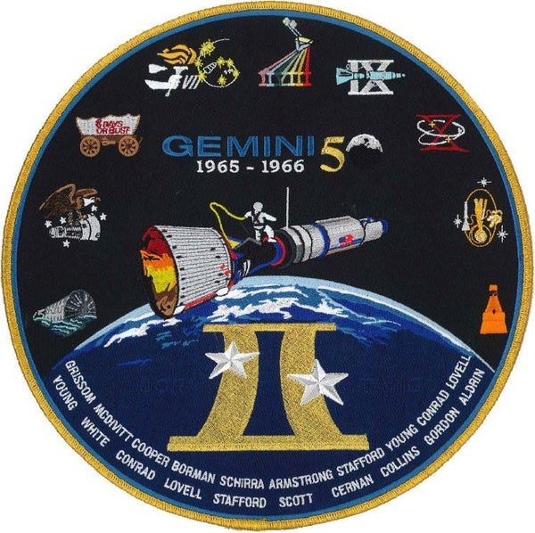 "Gemini Commemorative 10"" Patch by Artist Tim Gagnon"