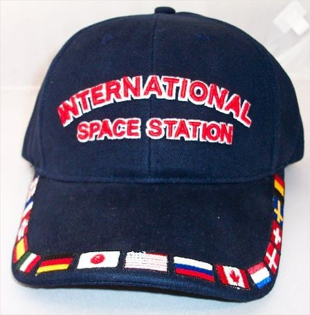 International Space Station Cap