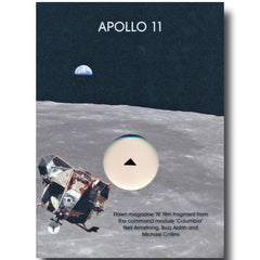 "APOLLO 11 FLOWN MAGAZINE ""N"" FRAGMENT"