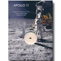 "APOLLO 11 ORIGINAL (UNFLOWN) LM ""EAGLE"" KAPTON FOIL"