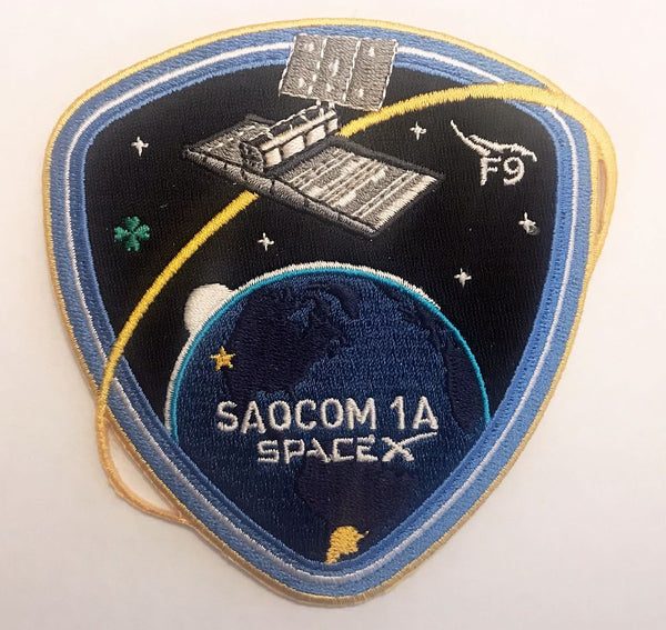 SPACEX SAOCOM 1A MISSION PATCH - The Space Store