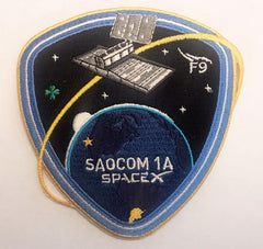 SPACEX SAOCOM 1A MISSION PATCH