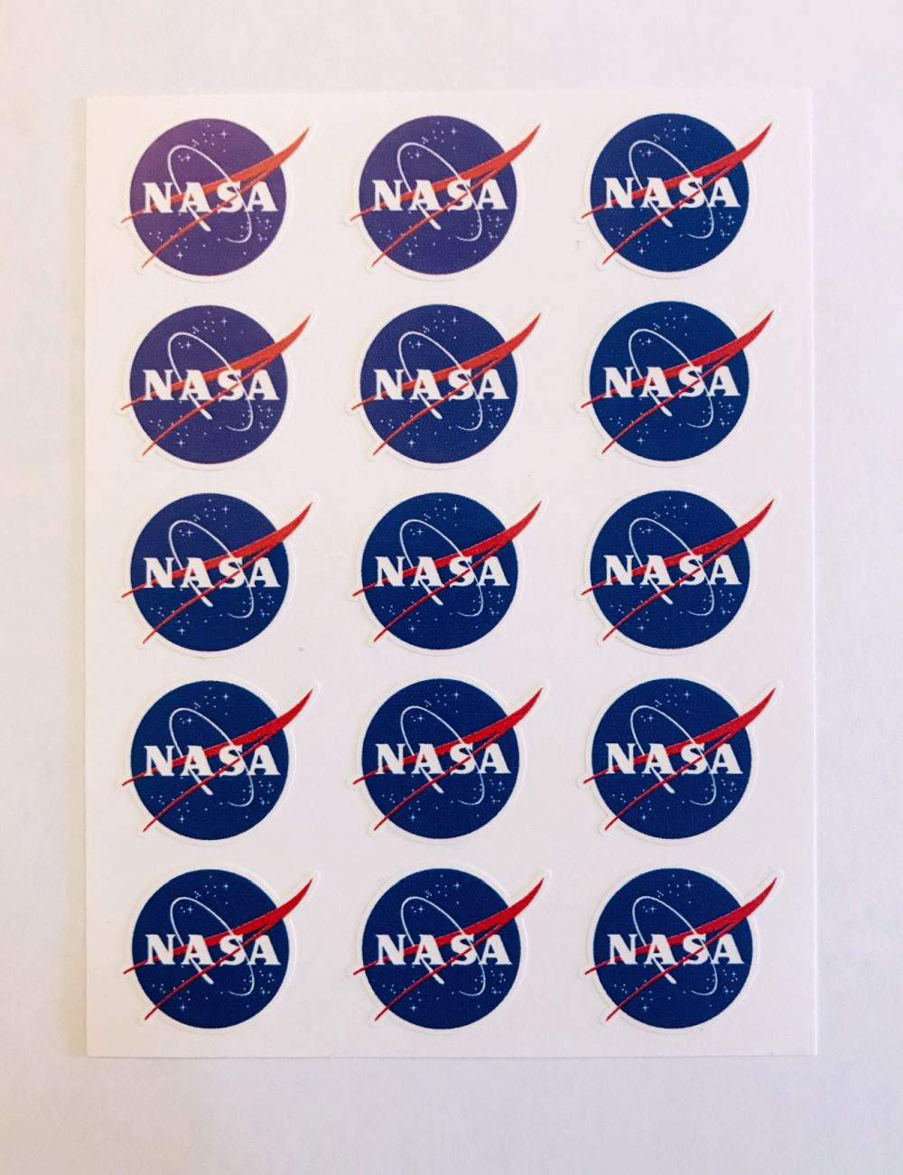 Shop nasa sticker sheet with 15 nasa logo stickers online from the space store