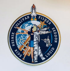 """Original 6 Women Astronauts"" Patch by Artist Tim Gagnon"