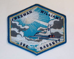 """HIGH FLIGHT"" PATCH BY Artist Tim Gagnon"