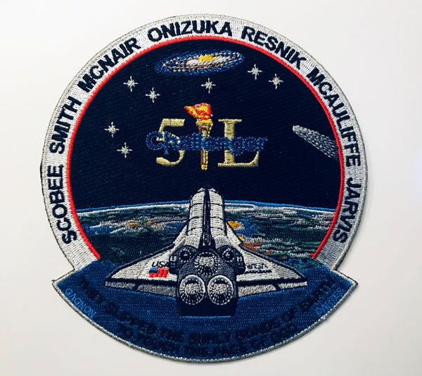 CHALLENGER 51L MEMORIAL PATCH by Artist Tim Gagnon