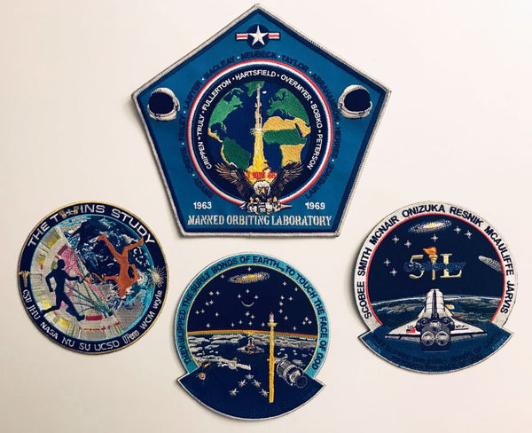 Manned Orbiting Laboratory Commemorative Patch - The Space Store