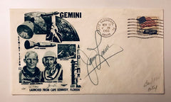 JAMES LOVELL SIGNED GEMINI 12 COVER