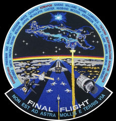 """FINAL FLIGHT"" 12"" Patch by Artist Tim Gagnon"