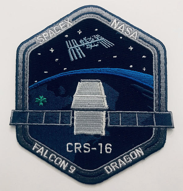 SPACEX CRS-16 MISSION PATCH - The Space Store