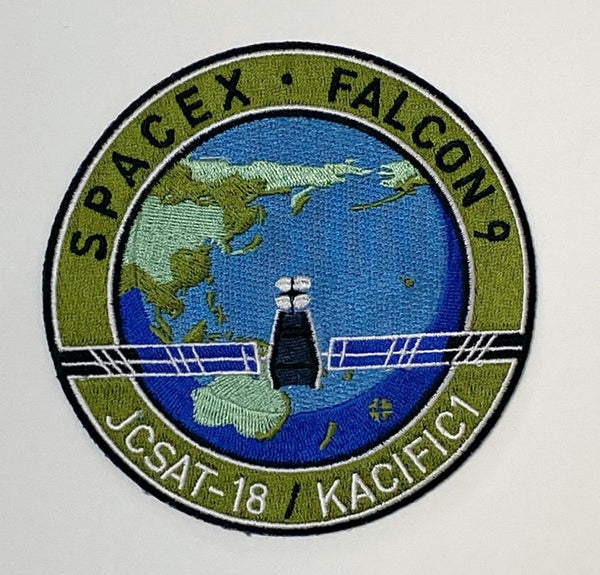 SPACEX JCSAT-18/KACIFIC1 Mission Patch - The Space Store