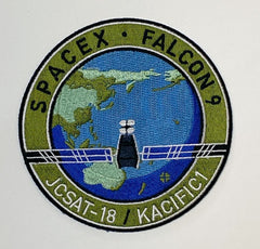 SPACEX JCSAT-18/KACIFIC1 Mission Patch
