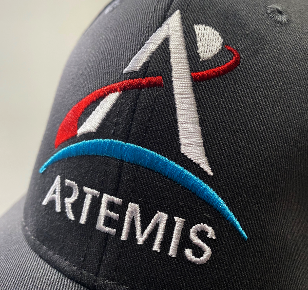 Artemis Program Cap in Arctic Gray - The Space Store