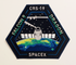 SPACEX CRS 19 MISSION PATCH - The Space Store
