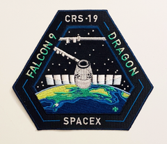 SPACEX CRS 19 MISSION PATCH