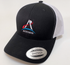 Artemis Program Retro Trucker Cap in Navy or Black - The Space Store