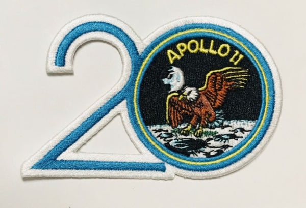 Apollo 11 20th Anniversary Patch - The Space Store