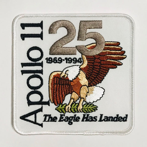 Apollo 11 25th Anniversary Patch - The Space Store