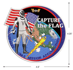"Capture the Flag DM-2 Commemorative 4.5"" patch from Artist Tim Gagnon"