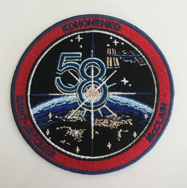 EXPEDITION 58 MISSION PATCH - The Space Store