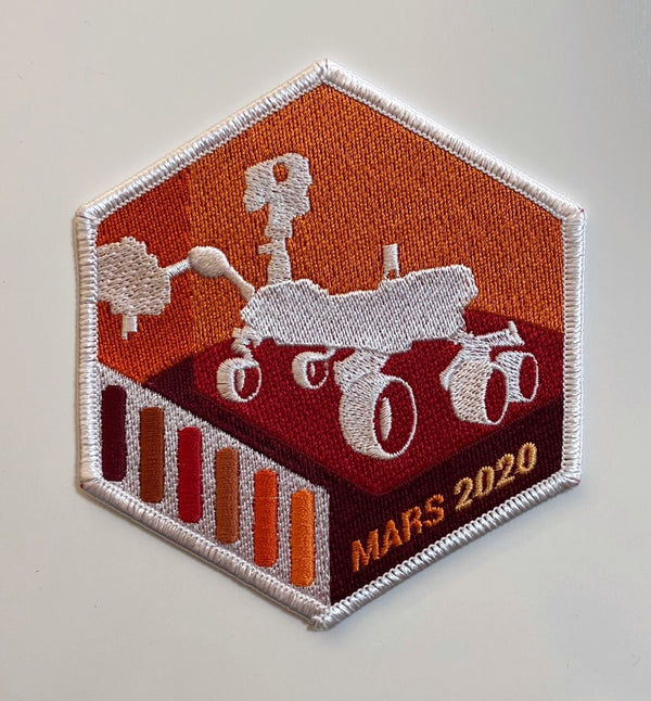 NASA JPL - MARS 2020 Perseverance Rover  Mission Patch