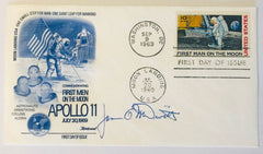 ASTRONAUT JIM McDIVITT SIGNED APOLLO 11 COVER