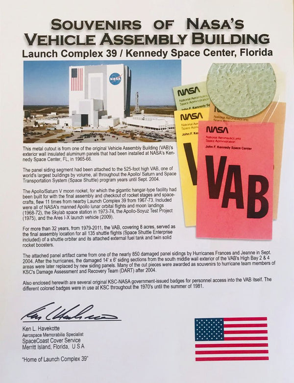 NASA VEHICLE ASSEMBLY BUILDING PRESENTATION - The Space Store