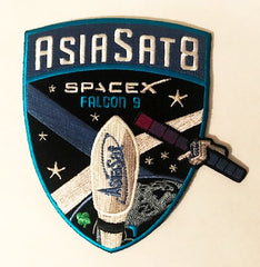 SPACEX ASIASAT 8 MISSION PATCH