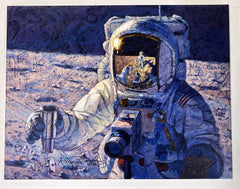 'A New Frontier' Limited Edition Canvas from Alan Bean