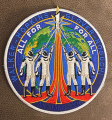 Crew 1 Commemorative Patch from Artist Tim Gagnon