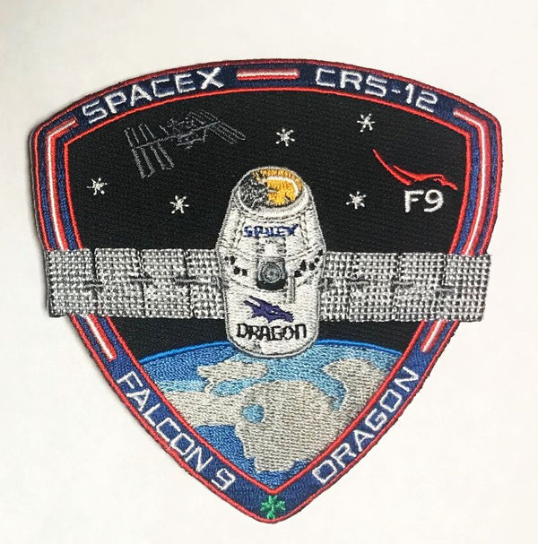 OFFICIAL SPACEX CRS-12 MISSION PATCH - The Space Store